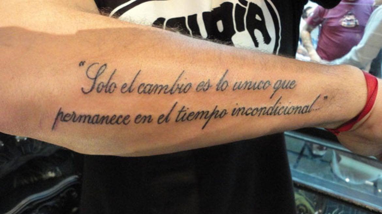 Tatuajes de frases ideas y fotograf as for Frases para tatuarse dos amigas