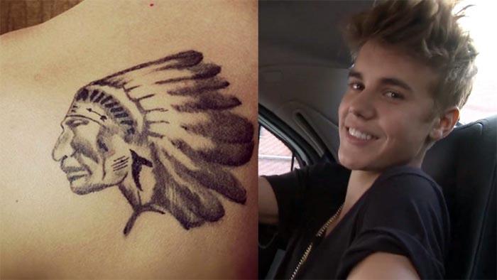 Tatuaje Indio - Justin Bieber