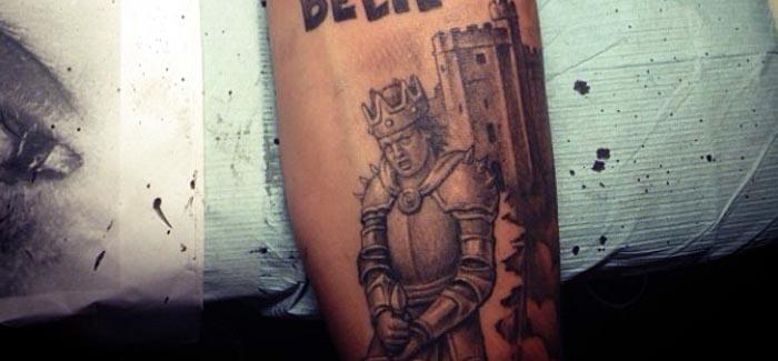 Tatuaje de Justin Bieber - CASTILLO