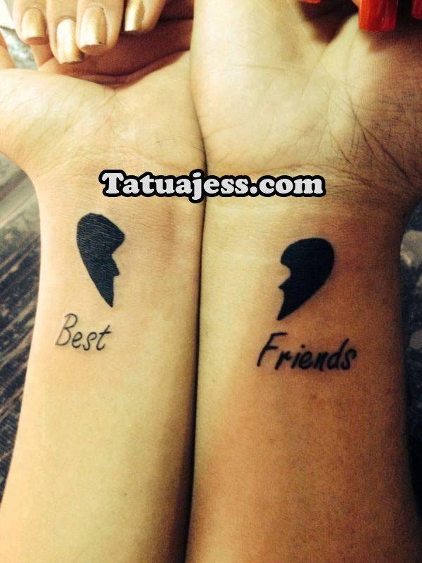 Tatuajes De Amistad Ideas Y Fotografías