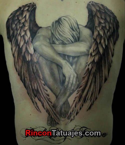 Tatuajes De ángeles Ideas Y Fotografías
