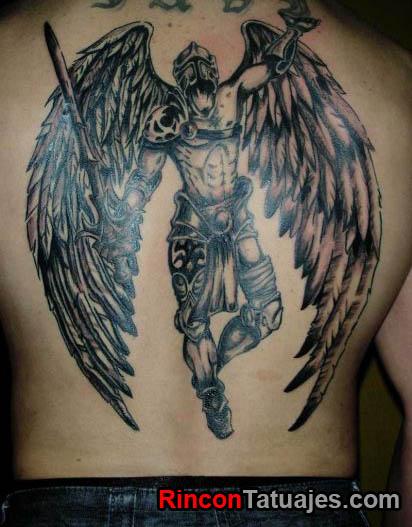 Tatuajes de ngeles Ideas y fotografas