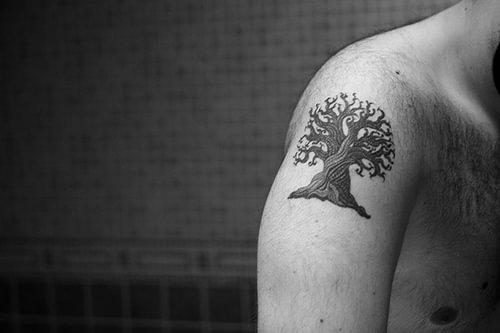 Tatuajes de rboles ideas y fotograf as for Significado de un arbol sin hojas