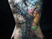 Tatuajes de árboles