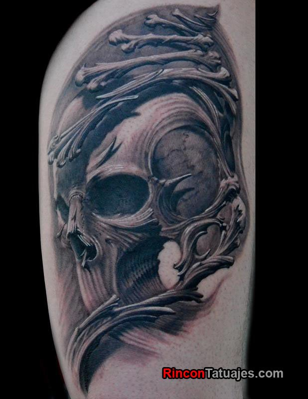 Tatuajes Blanco y Negro Vix