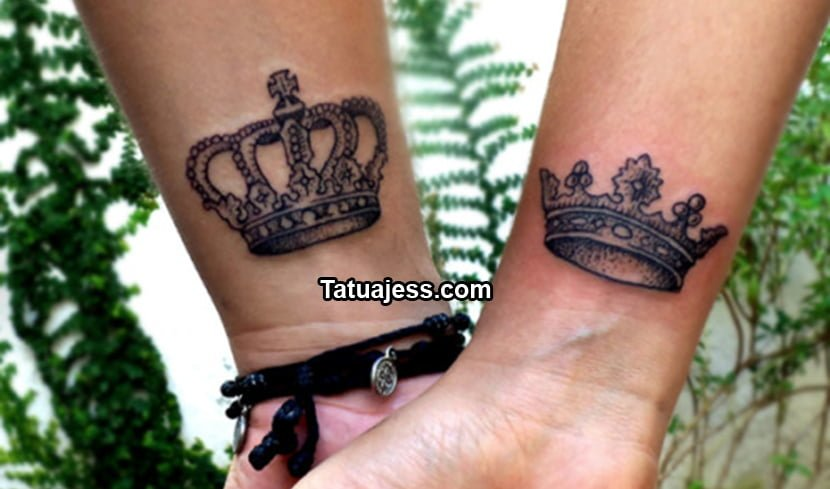 tatuajes de coronas ideas y fotograf as. Black Bedroom Furniture Sets. Home Design Ideas