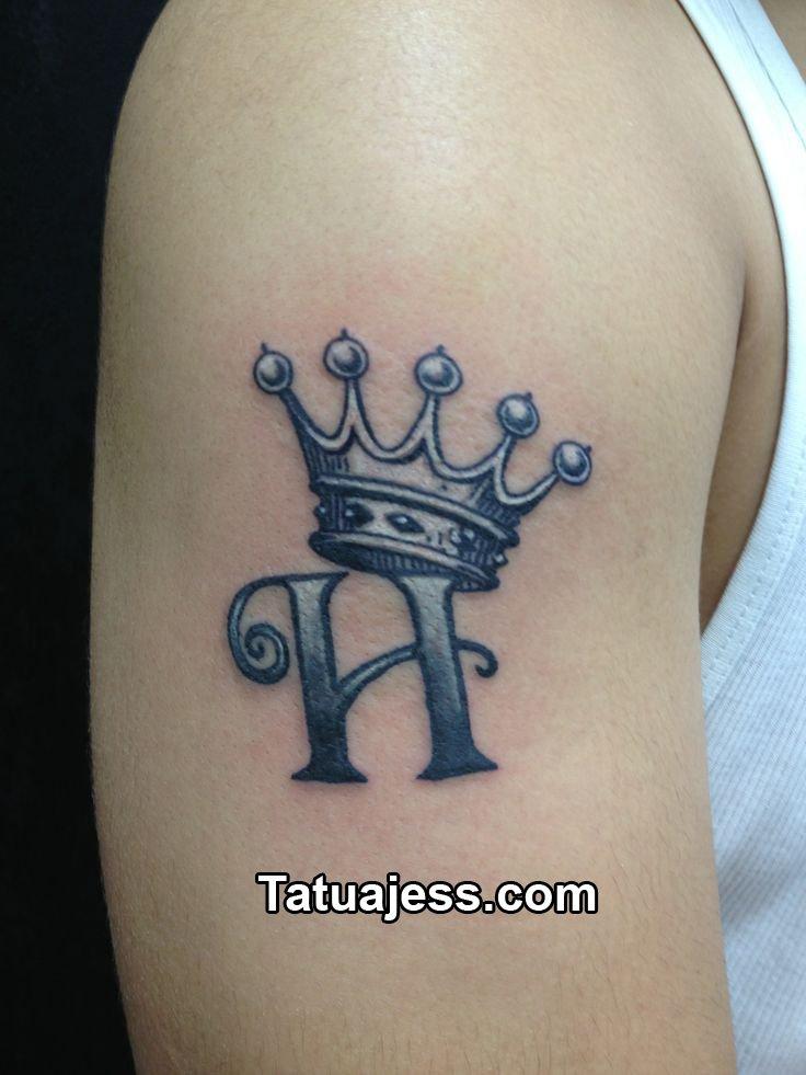 Tatuajes De Coronas Blanco Y Negro 7
