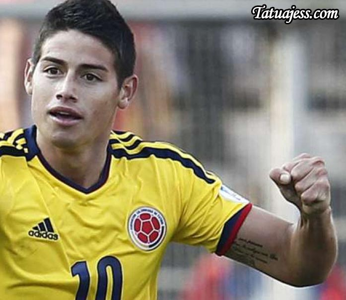 tatuajes de james rodr guez ideas y fotograf as