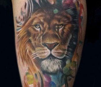 Tatuajes De Leones Ideas Y Fotografías