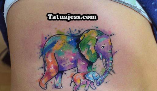 Tatuajes De Elefantes Ideas Y Fotografías