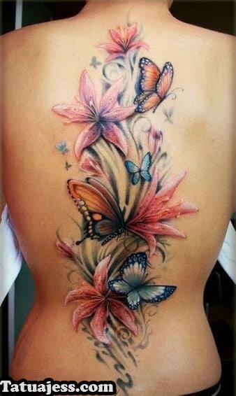 Tatuajes De Mujer Ideas Y Fotografias - Tatuajes-de-colores-para-mujeres