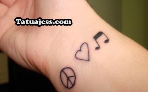 Tatuajes De Musica Ideas Y Fotografias