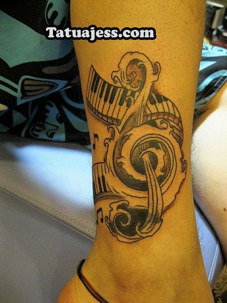 Tatuajes De Música Ideas Y Fotografías