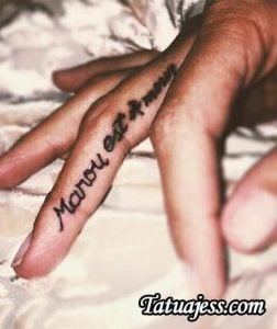 Tatuajes de Calu Rivero - Marou es amor