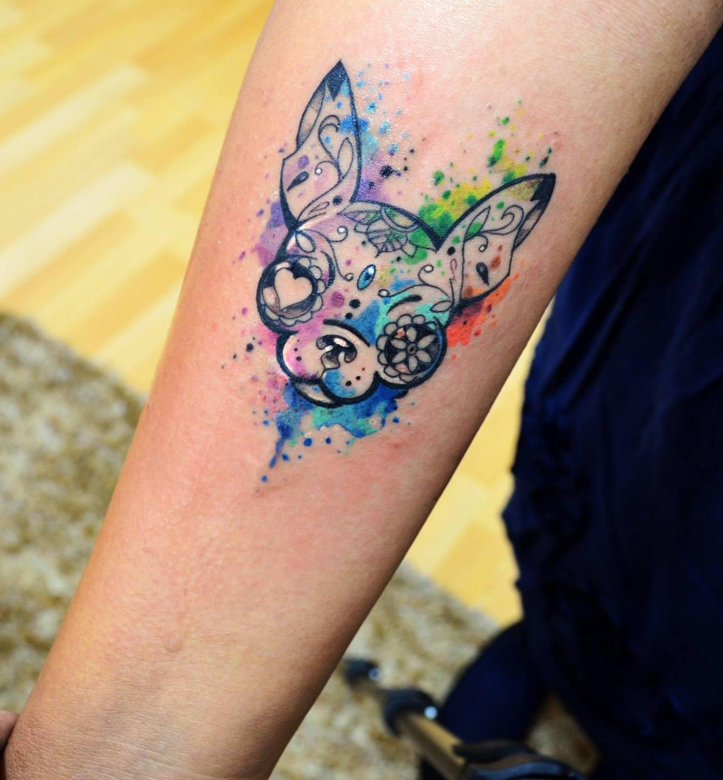 Tatuajes de perros ideas y fotograf as - Tattoo disenos a color ...