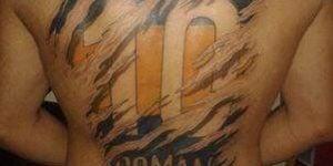 Tatuajes de Boca Juniors
