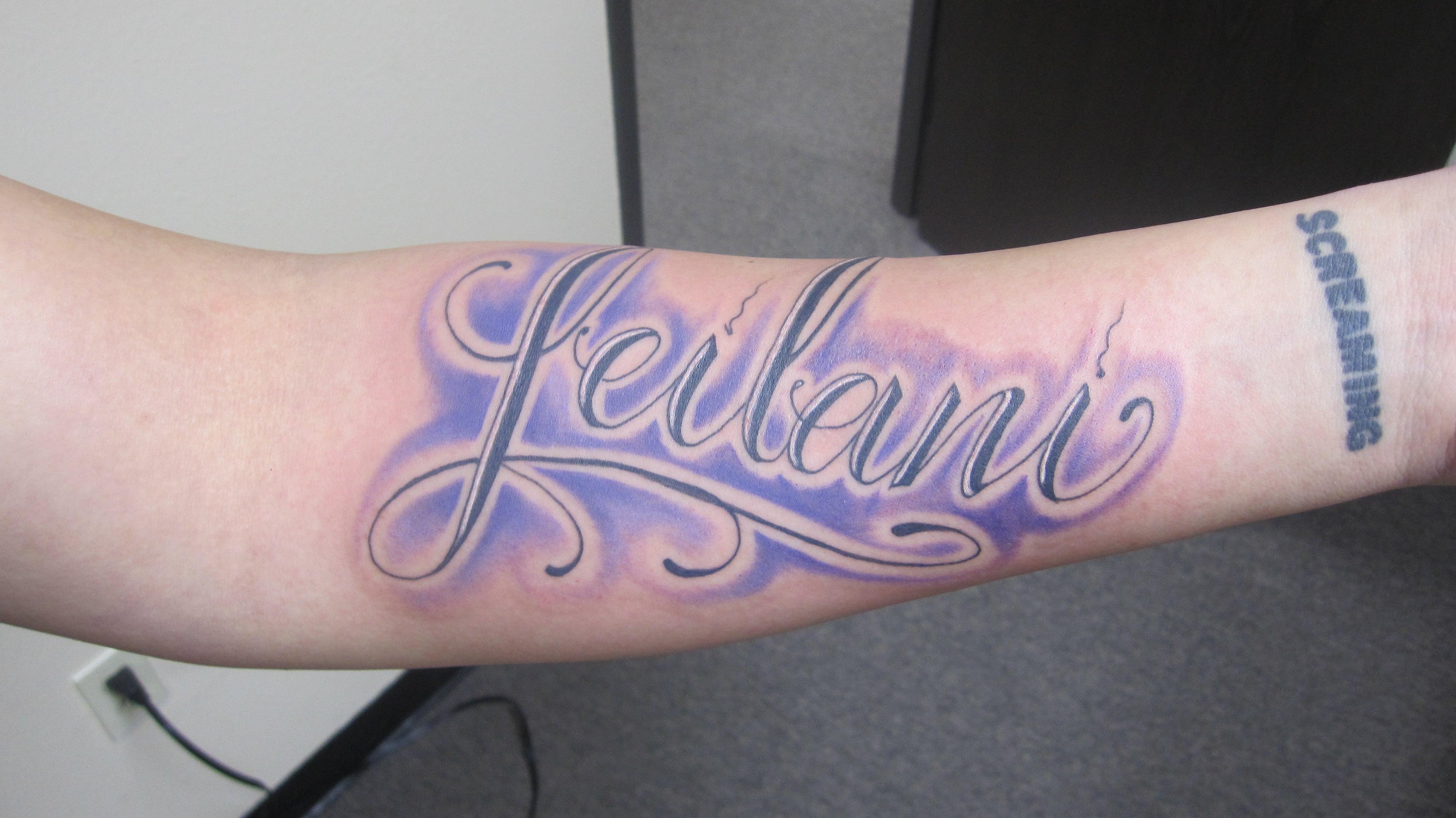Tatuajes de nombres en el brazo ideas y fotograf as - Tattoo chiffre ...