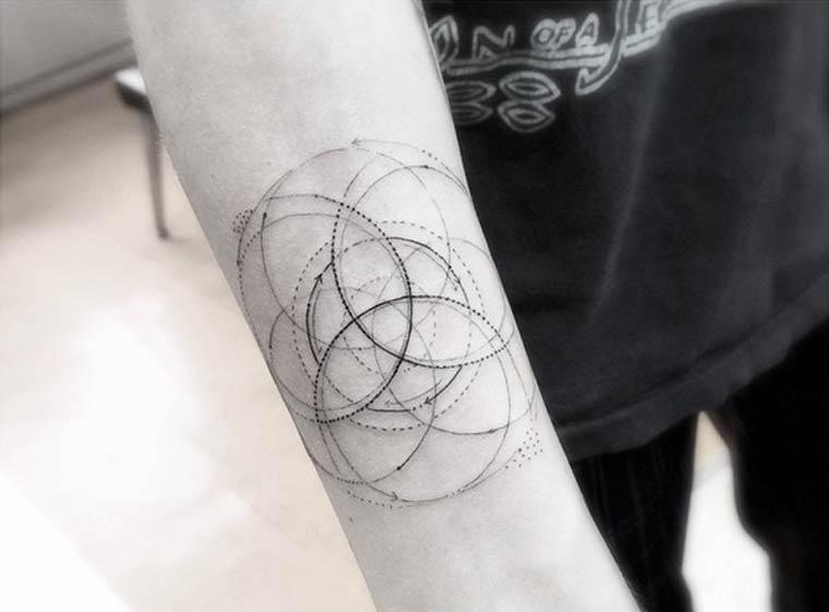 Tatuajes Geométricos Ideas Y Fotografías