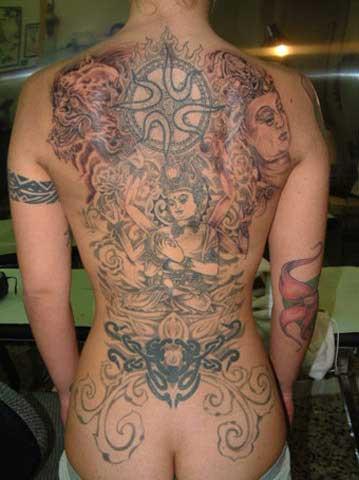 Fotografías de tatuajes hindúes