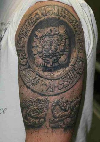 Tatuajes Mayas Ideas Y Fotografías