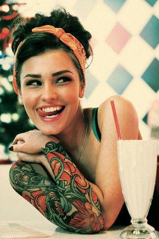 Tatuajes en el brazo para mujeres Ideas y fotografas