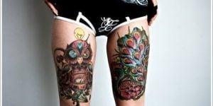 Tatuajes en la pierna para mujeres