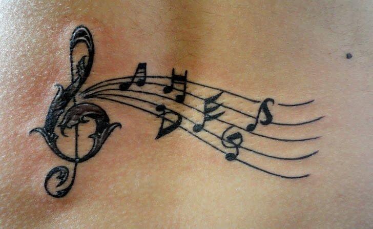 Fotografías de tatuajes musicales