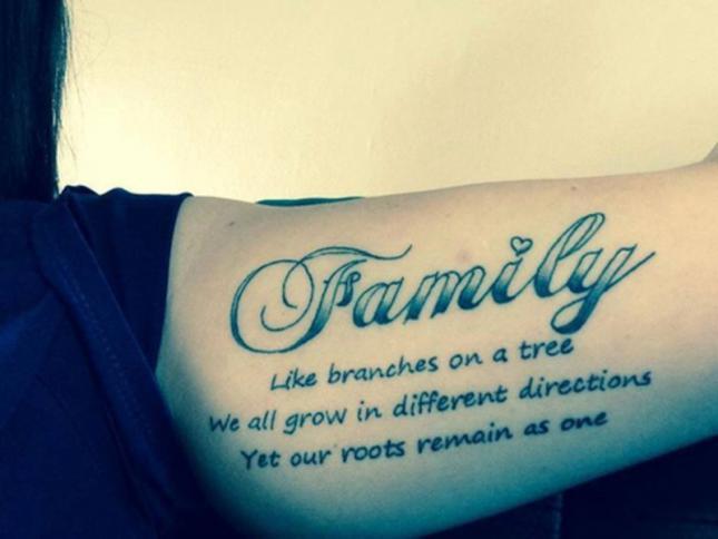 Tatuajes De Familia Ideas Y Fotografías
