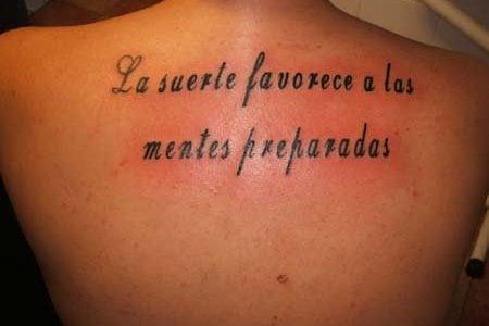 Tatuajes De Frases En Espanol Ideas Y Fotografias