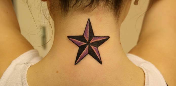 Tatuaje Old Schoool - Estrella Náutica