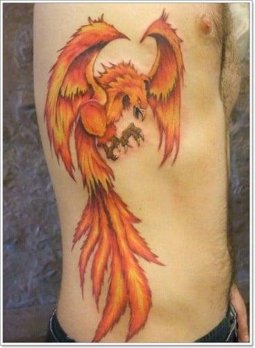 Tatuajes De Fénix Ideas Y Fotografías