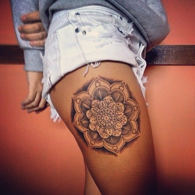 Tatuajes para mujeres en la pierna ideas y fotograf as - Tatuajes de pared ...