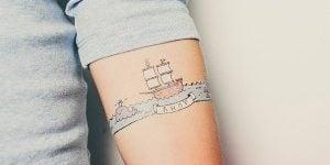Tatuajes falsos