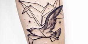 tatuajes originales de gaviotas