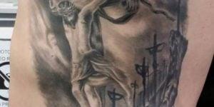 diseños de tatuajes de Jesús