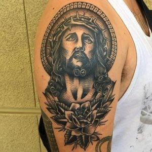 diseños tatuajes de Jesús