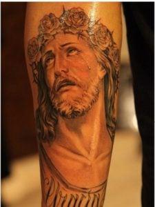 tatuajes de jesucristo