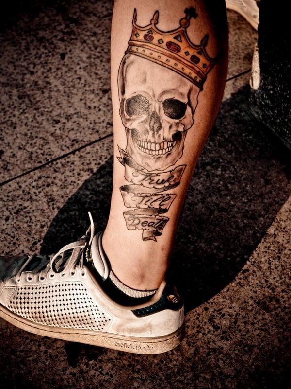 Tatuajes Para Hombres En La Pierna Ideas Y Fotografías