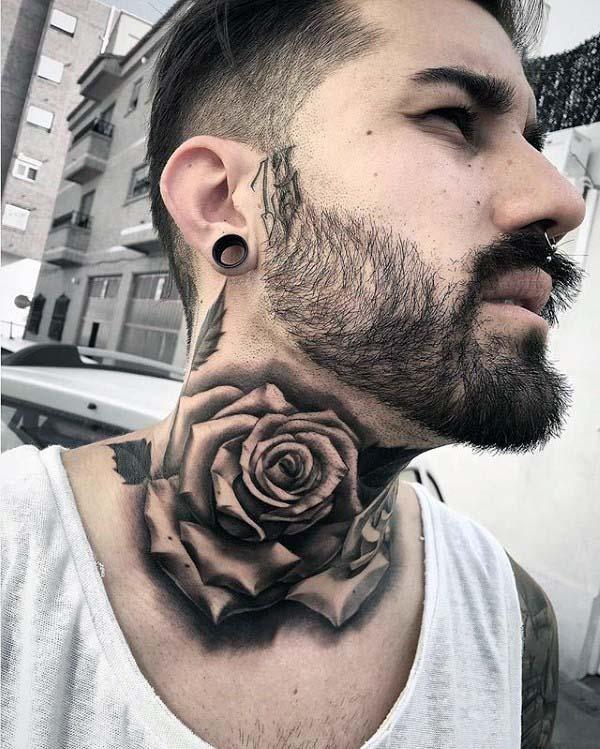Tatuajes En El Cuello Para Hombres Ideas Y Fotografías