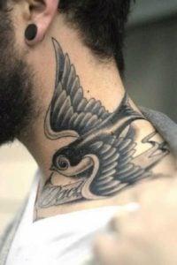 tatuajes en el cuello para hombres