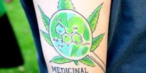 tatuajes de cannabis