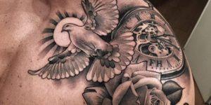Tatuajes En El Hombro Para Hombres Ideas Y Fotografías