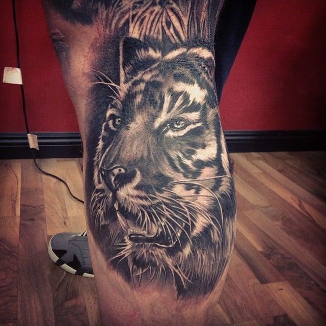 Tatuajes En La Pierna Para Hombres Ideas Y Fotografias