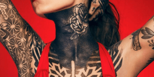 Tatuajes de Candelaria Tinelli