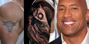 Cover up Dwayne Johnson