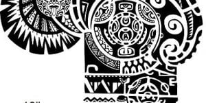 diseño tatuaje Dwayne Johnson