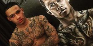 Tatuajes de Memphis Depay
