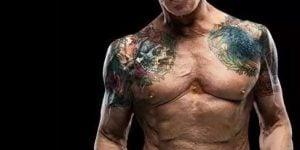 Tatuajes de Sylvester Stallone