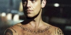 Tatuajes de Robbie Williams