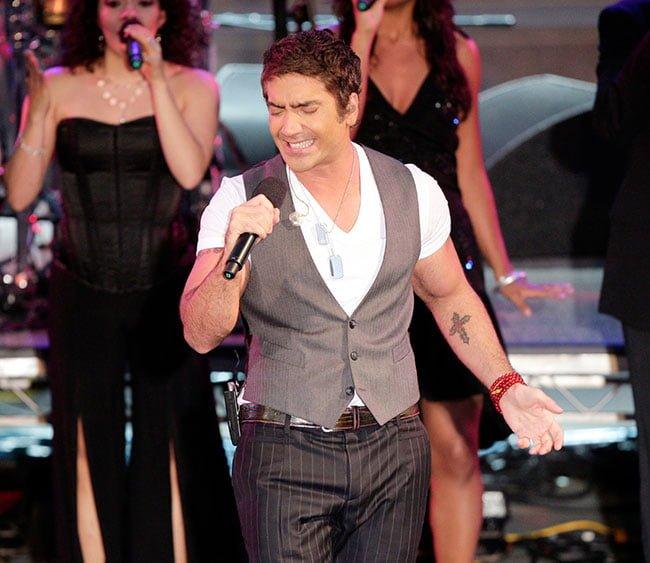 Alejandro Fernandez en concierto